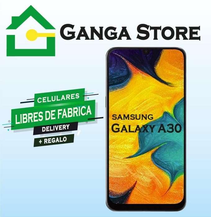 Samsung Galaxi A30 Nuevo Tienda Garantia