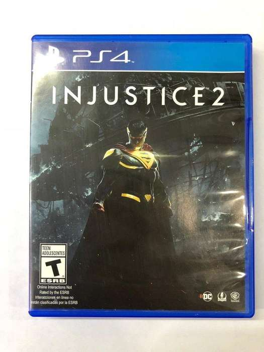 INJUSTICE 2 playStation 4 ps4 fisico PERMUTO X GTA 5