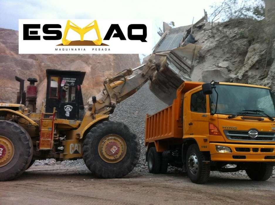 Venta de Materiales Petreos para Construccion, Ripio, Polvo, Arena, Piedra, Lastre, Desalojos