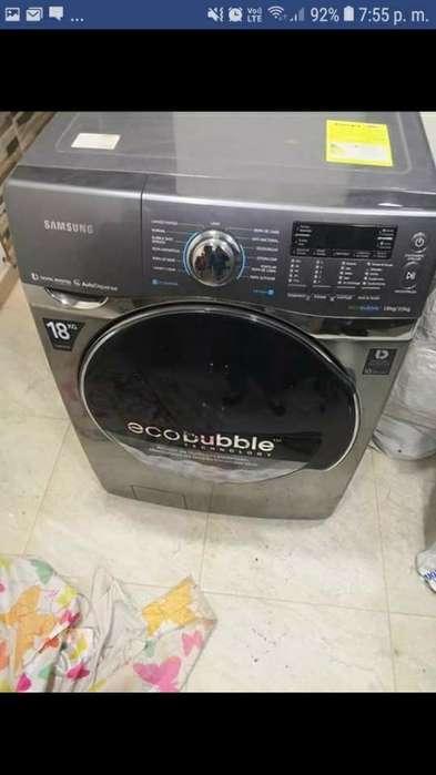 Lavadora Y Secadora Samsung 40lbs