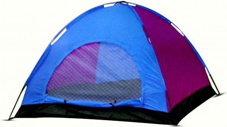 Carpa Camping 4 Personas 2m X 2m X 1.3m Impermeable Con Maya