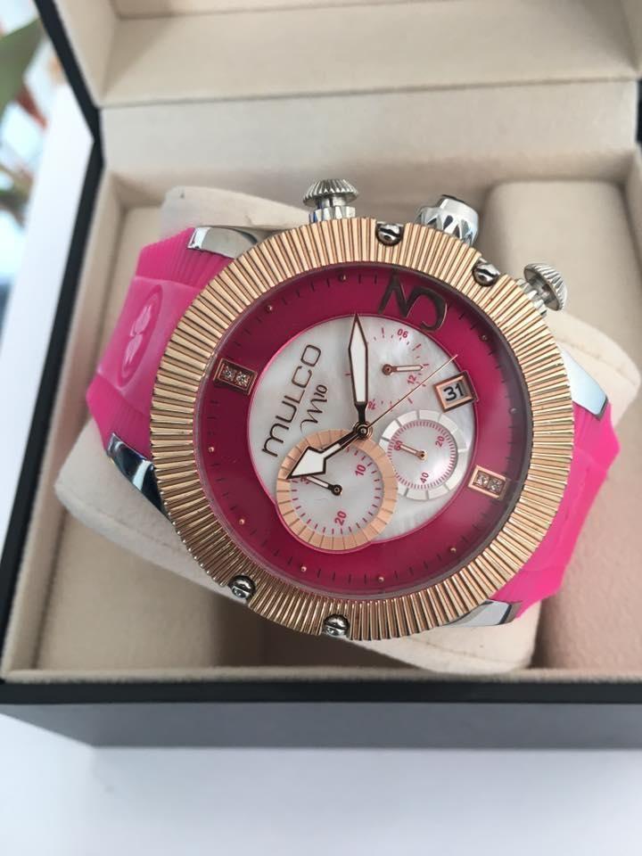 601c7e1df28c Reloj Mulco M10 fucsia para dama original - Cúcuta