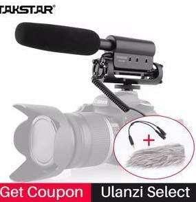 microfono takstar miniplug