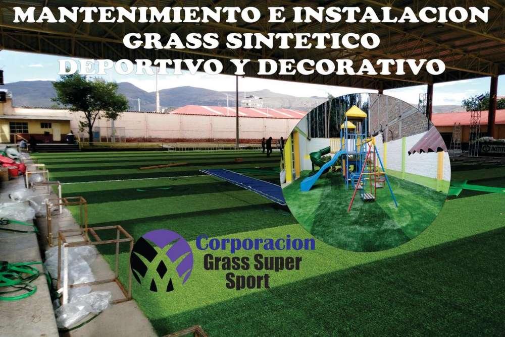 GRASS SINTETICO A NIVEL NACIONAL Y AL MEJOR PRECIO DEL MERCADO CEL 912322429