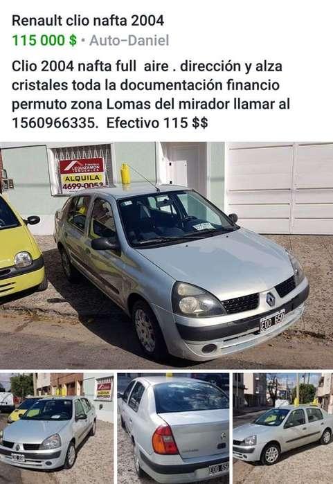 Renault Clio  2004 - 120000 km