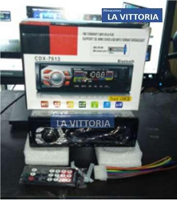 Radio Con Pantalla Lcd Para Carro Usb Auxiliar Sd
