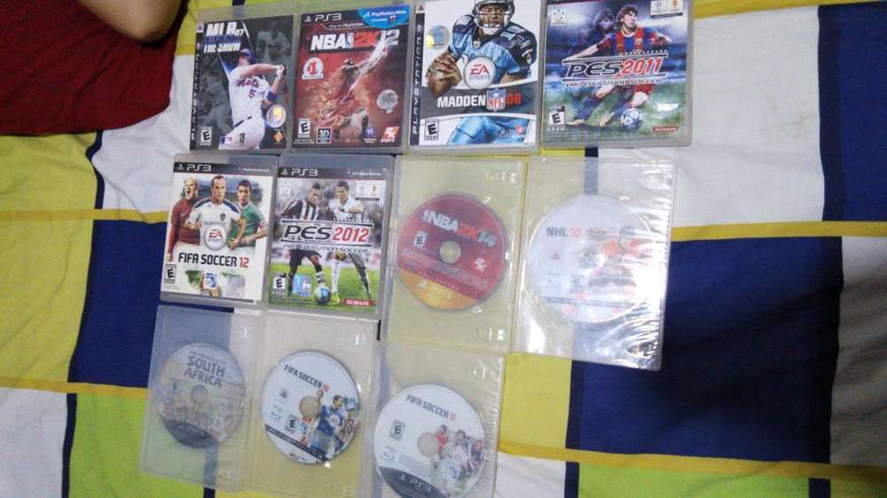 Se Vende Juegos Ps3