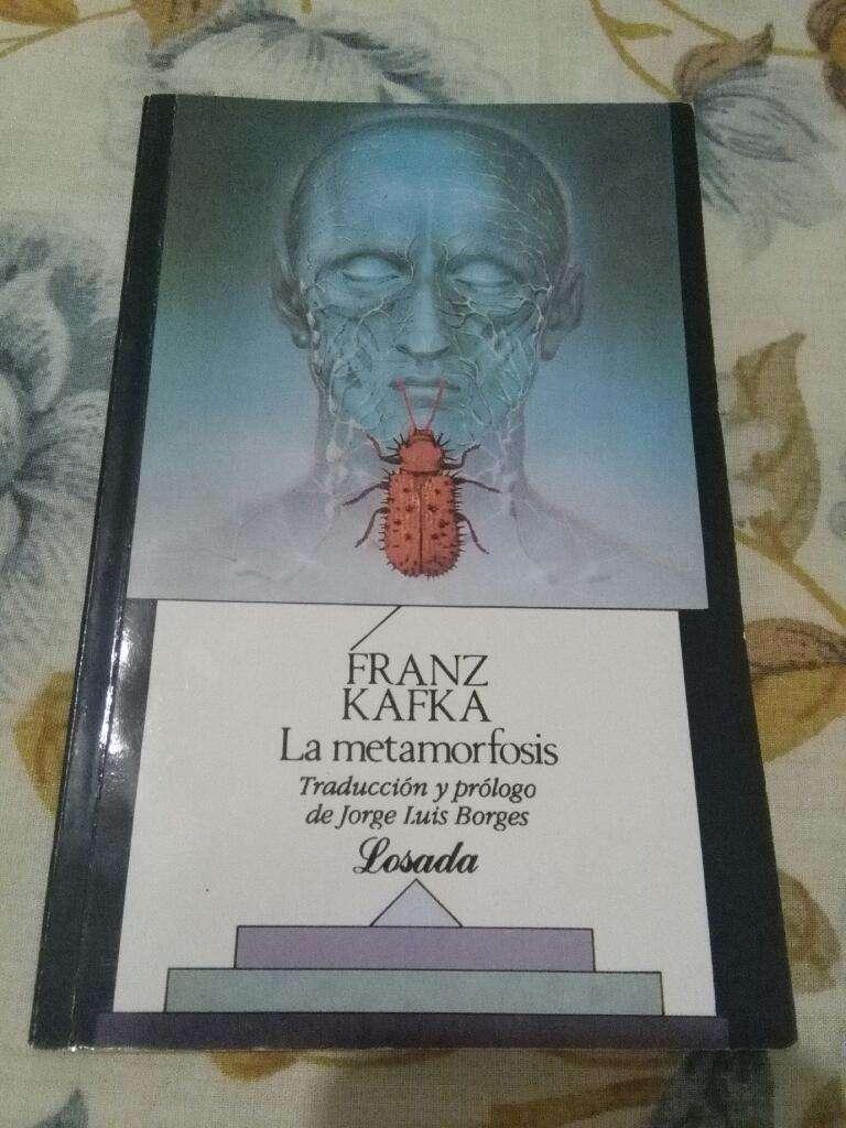 La Metamorfosis . Franz Kafka . Libro Losada . Prologo Borges