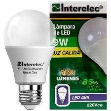 LAMPARAS LED 9 W X 10 UNIDADES
