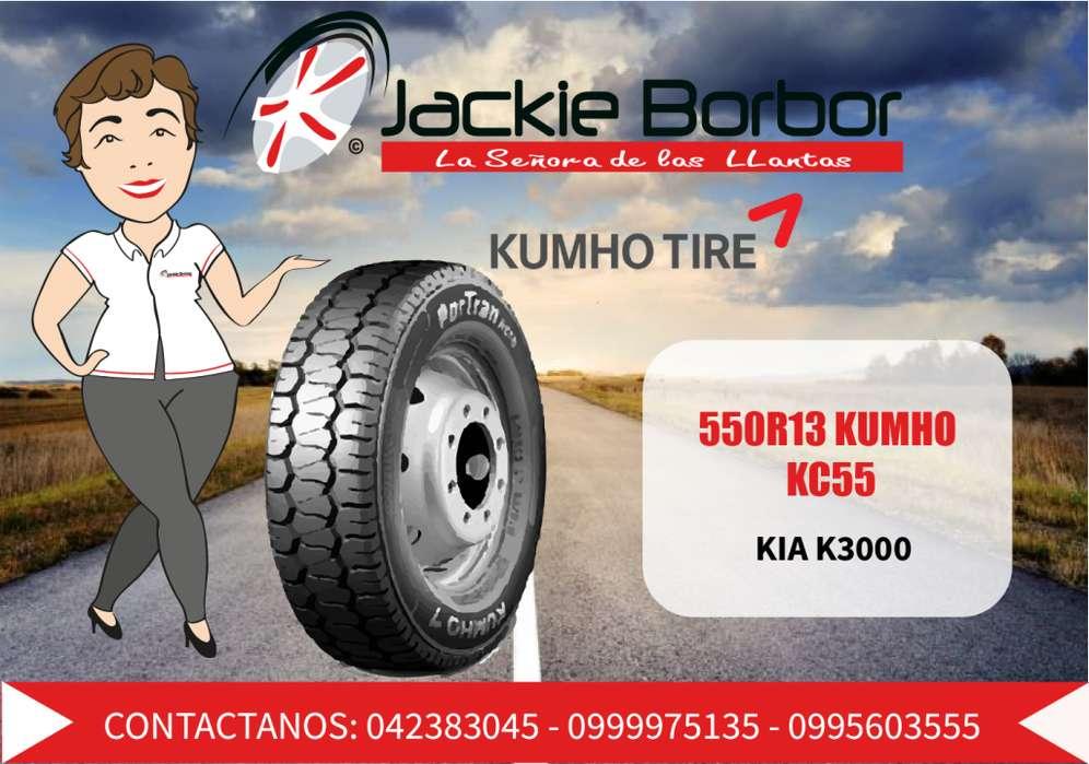 Llanta 550R13 KUMHO KIA K3000