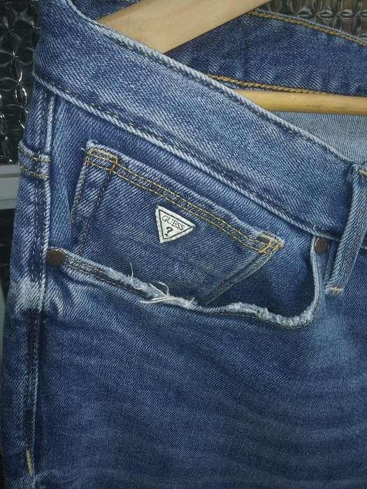 Pantalon Guess Talla 36 Original