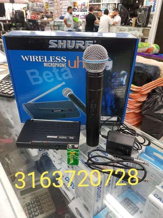 Microfono Shure Inhalambrico Ew 300