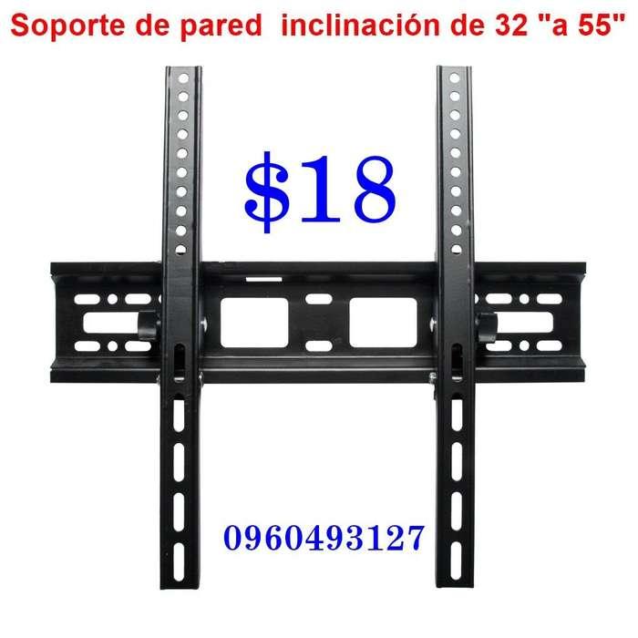 """Soporte para TV con inclinación de 26"""" – 55"""" a 18usd"""