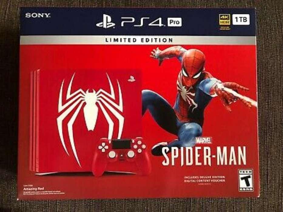 Playstation 4 Nuevo Edición Limitada Pro