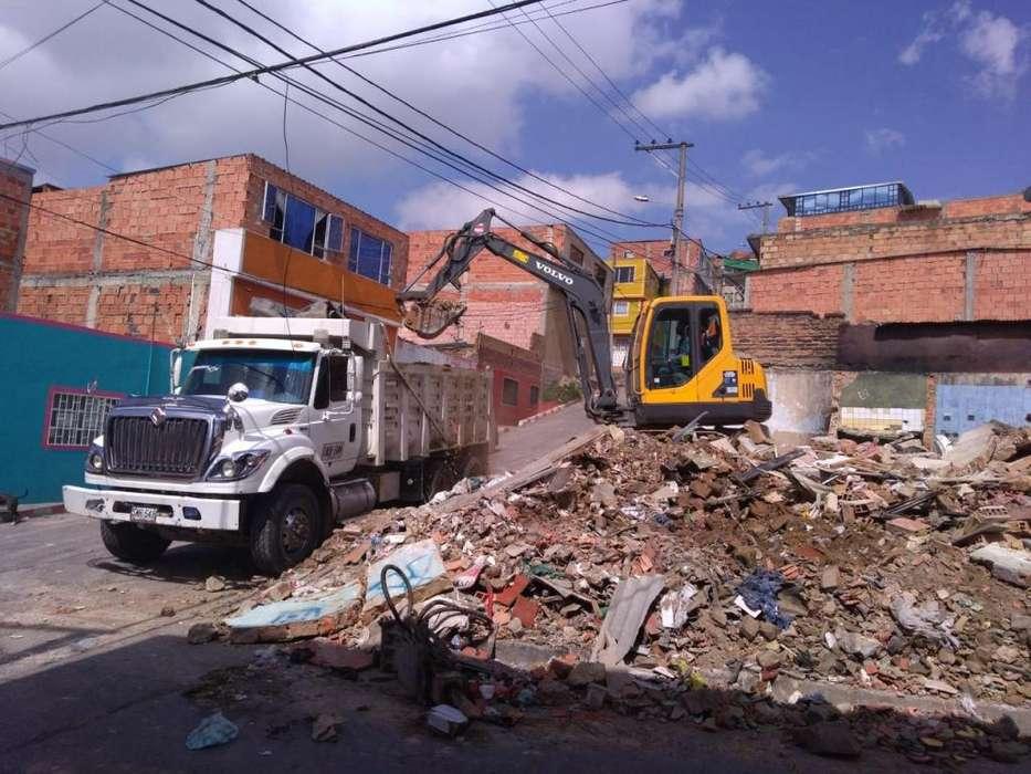 313 2869291 ESCOMBRO CUALQ CANTIDAD BOTADERO AUTORIZADO SERVICIO DE VOLQUETA ALQUILER MINICARGADOR LIMPIEZA DE LOTES