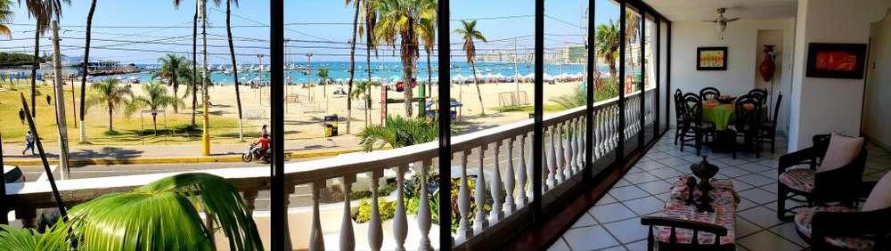 Se Alquila Hermoso Departamento en Malecón de Salinas