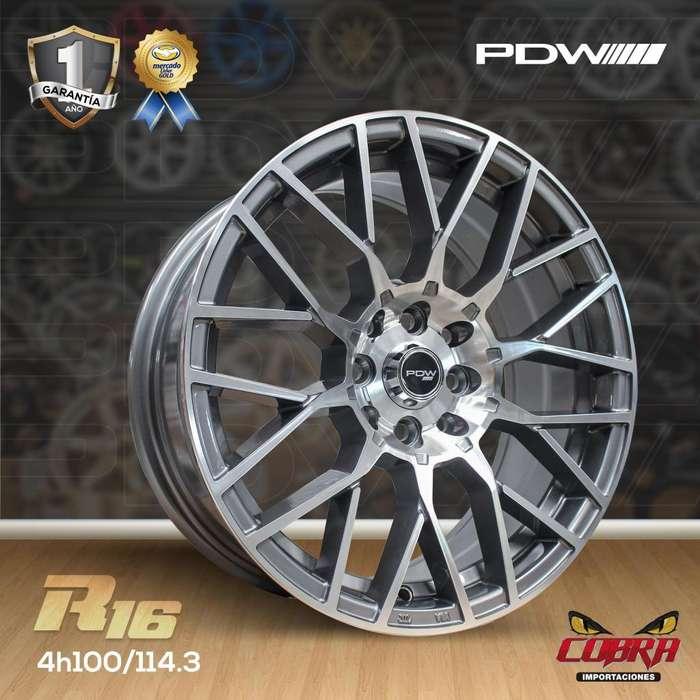 Aro Rin 16 Hyundai Accent Kia Rio Chevrolet Aveo Chevrolet