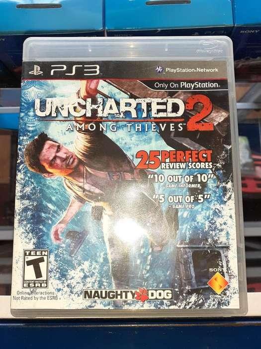 Uncharted 2 para Consola Ps3 Full