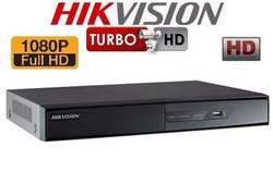 GRABADOR DE VIDEO DVR 8CH HIKVISION DS7208HGHIF2 TURBO HD 1080p DE 8 CANALES BNC, HDMI, 2 SATA