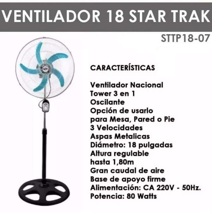 Ventilador de Pie 18' Star Trak