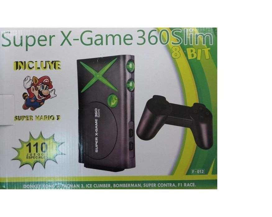 Consola Poly Station 110 Juegos,super X Game 360