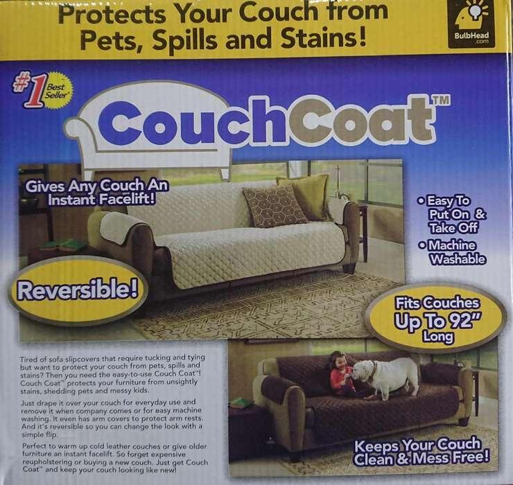 Couchcoat Protector de Sofa 3 Puestos
