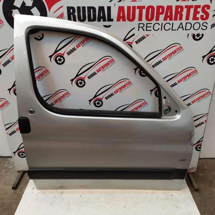 Puerta Delantera Derecha Peugeot Partner 6650 Oblea:03275728