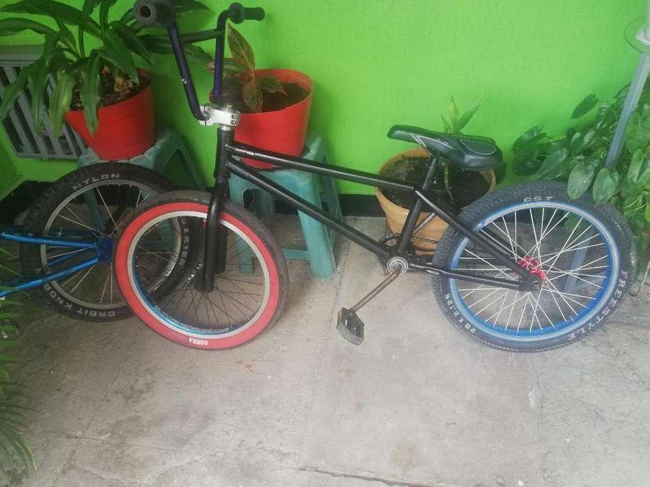 Vendo Bicicleta Dragon Bmx Y Encimo Gw