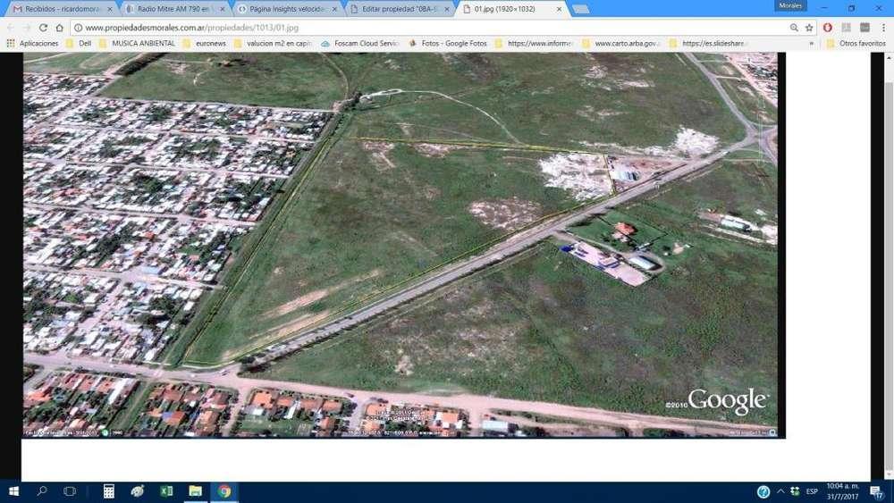 VENTA TERRENO DE 11 Ha s/Avda. Dasso, S/asfalto PUERTO ING WHITE