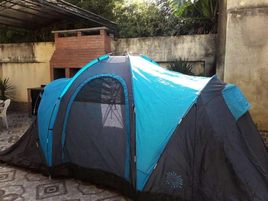Carpa Familiar para 6 Personas - 2 habitaciones