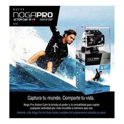 CAMARA DEPORTIVA NOGA PRO G3 ACTION CAM SUMERGIBLE 30MTS HD 720P 900MAH
