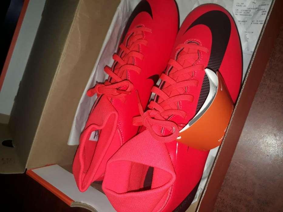 Botin Nike Mercurial Botita Nuevo Sin Uso