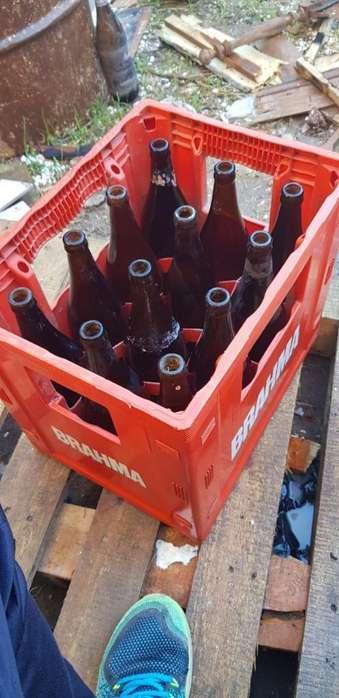 Cajon de Cerveza con Envases.