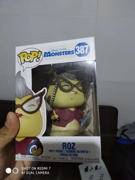 Funko Pop Disney: Monster's Inc. - Roz