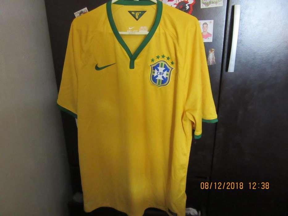 CAMISETA BRASIL 2014 ORIGINAL XL