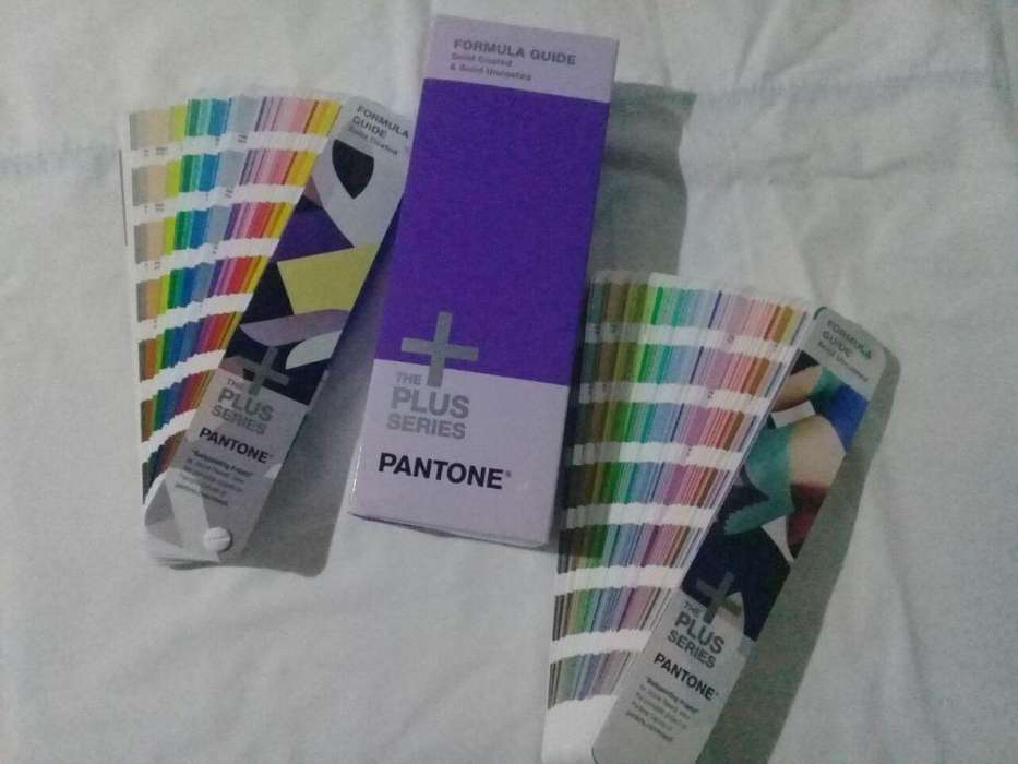 Guia de colores Pantone GP1601N VERSION 2016