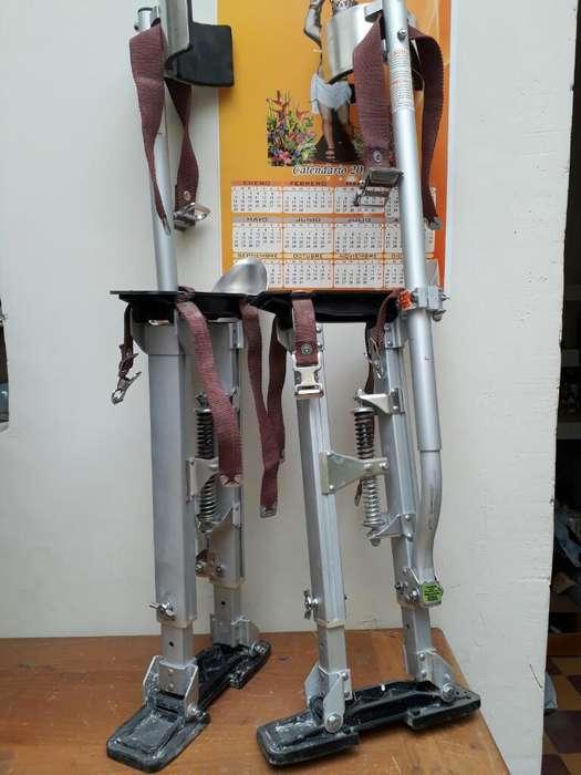 Zancos de Aluminio