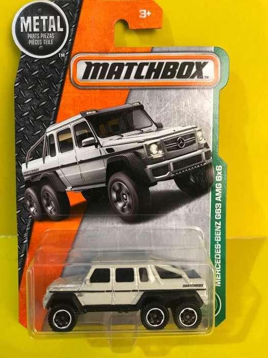 Mercedes Benz G63 Amg 6x6 Matchbox Diecast Metal 1/64