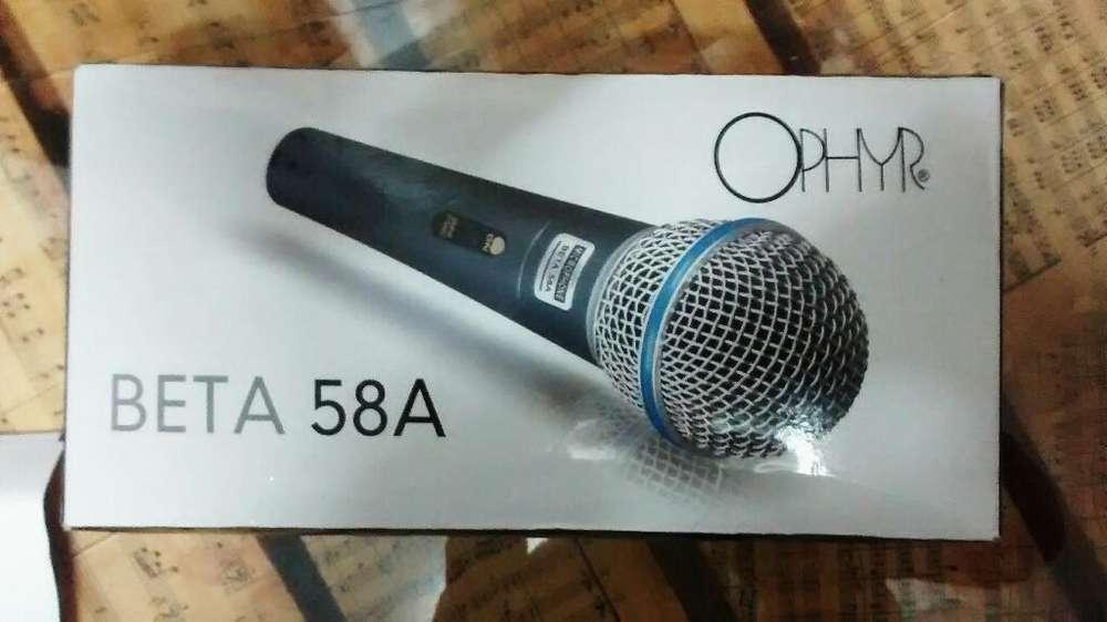 Micrófono Beta 58 a