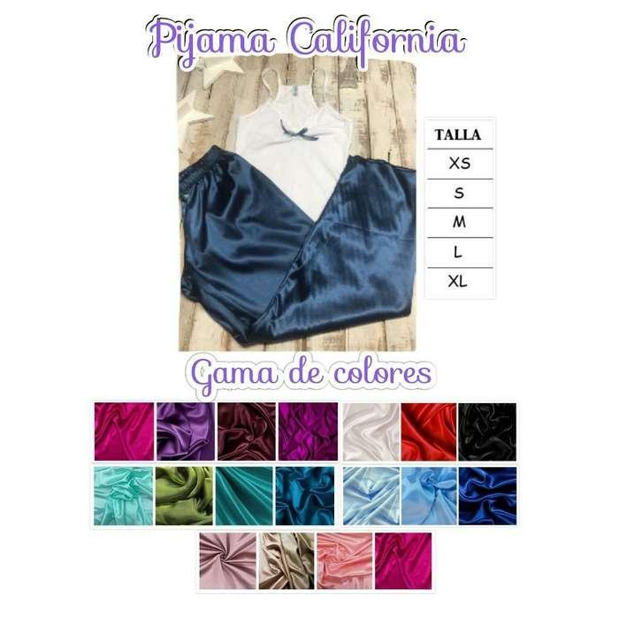 Pijamas Hechas en Satín (ropa)