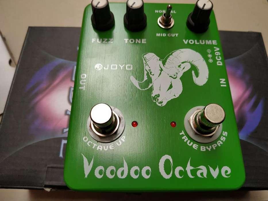 Joyo Voodoo Octave Fuzz bajo Guitarra