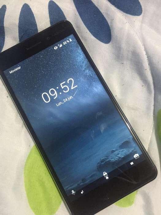 Nokia 6 con Detalle