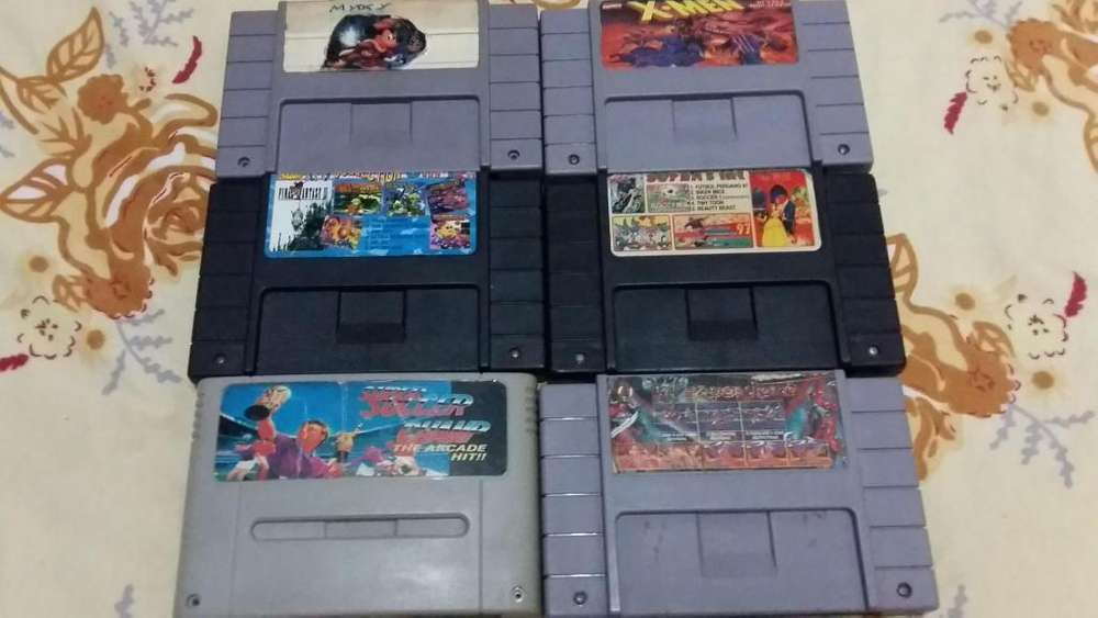 Juegos Super Nintendo y Cajas Snes