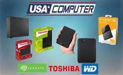 Disco Duro Externo Toshiba Wd 1tb 2tb 3tb 4t Seagate 5tb 8tb