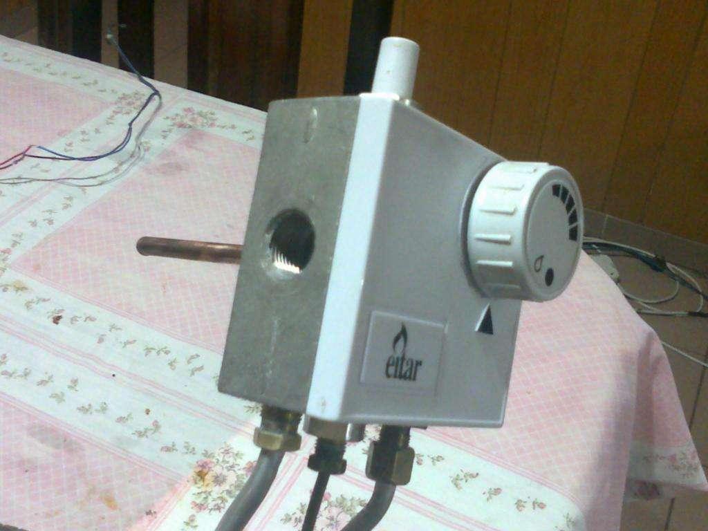 Termostato Eitar para termotanque Rheen 85 lts