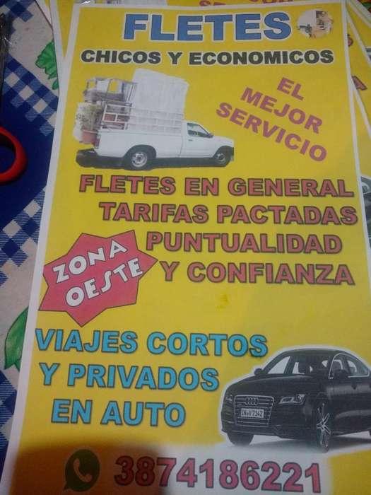 Fletes Y Viajes Privay en Auto.