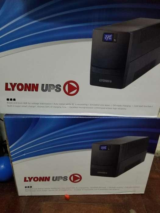 Estabilizador Ups Lyonn 1200v