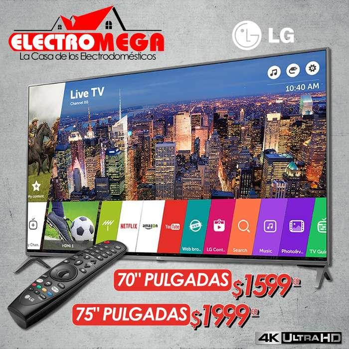 Televisor Tv Lg Smart 70 y 75 Pulgadas Ultra Hd 4k Nuevo