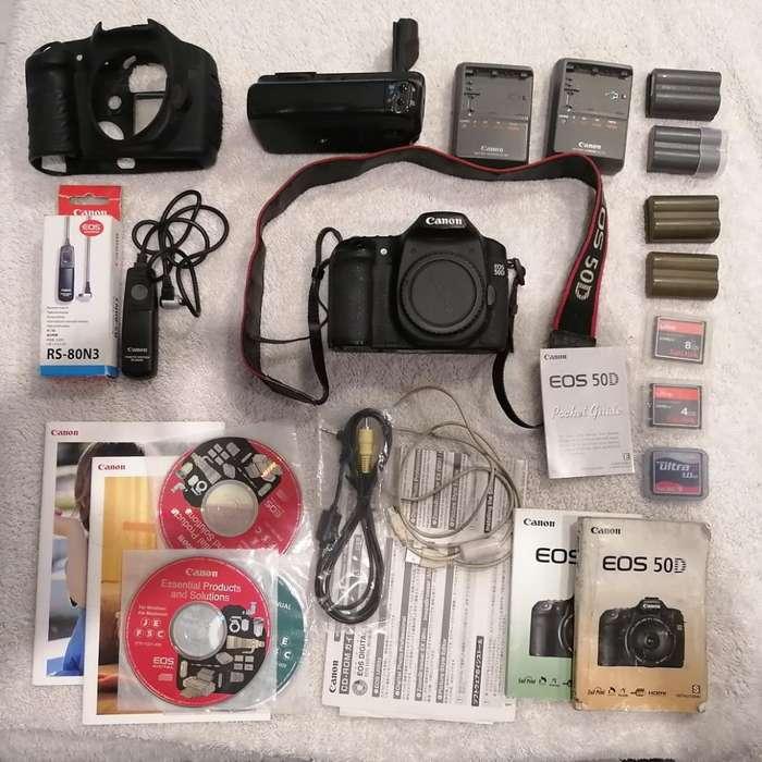 Canon 50d Solo Cuerpo Y <strong>accesorios</strong>