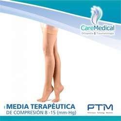 Medias Terapeutica de Compresion hasta el Muslo 8-15 (Mm-Hg)- Venomed - PTM -  Ortopedia Care Medical